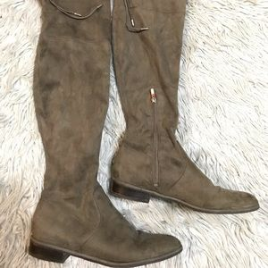 Marc Fisher suede over the knee boots